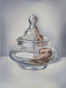 Thanassisfrissirasgallery, 2009,  oil on canvas, 40x30cm, objectivity  25